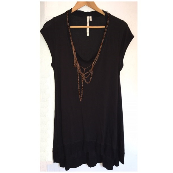 405d6e593fc RACHEL Rachel Roy Tops | Black Scoop Neck Topdress | Poshmark
